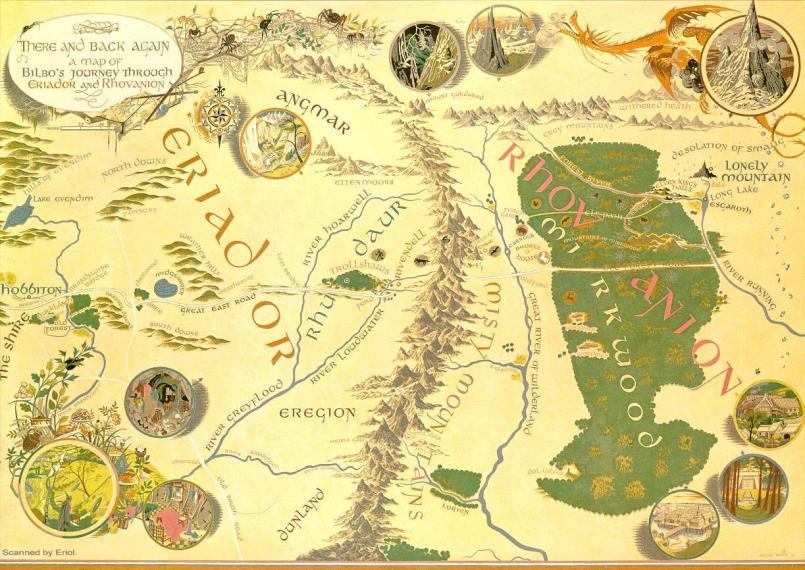 Map by Deviant Artist silentrageleon