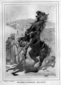 The Taming of Bucephalus, Andre Castaigne (1898-99)