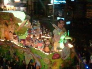 A-Rod float in Krewe D'Etat