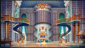 I want a library like this.