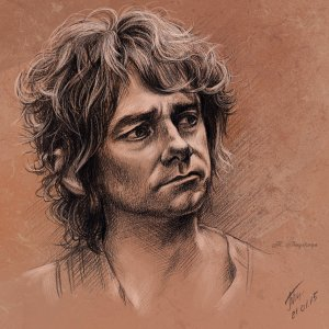 Bilbo Art by Deviant Artist Duh22