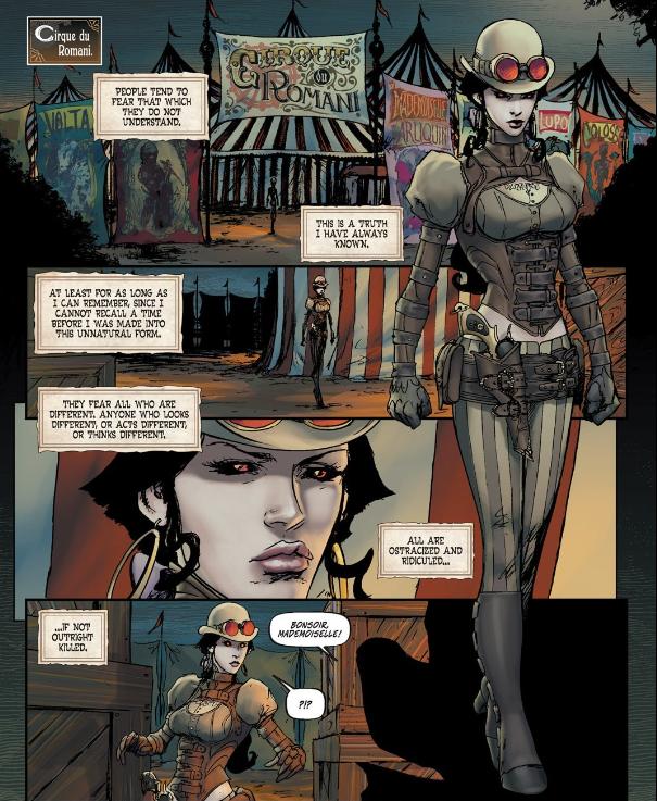 Lady Mechanika issue 2