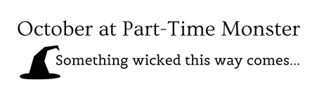 October at Part-Time Monster-logo