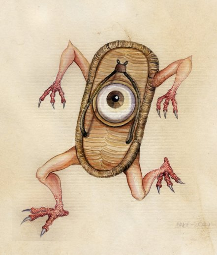 Sandal Monster: Bakezori
